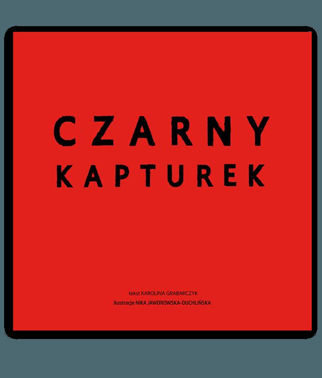 Czarny Kapturek - okładka książki
