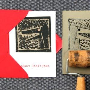 Czarny Kapturek | ekslibris